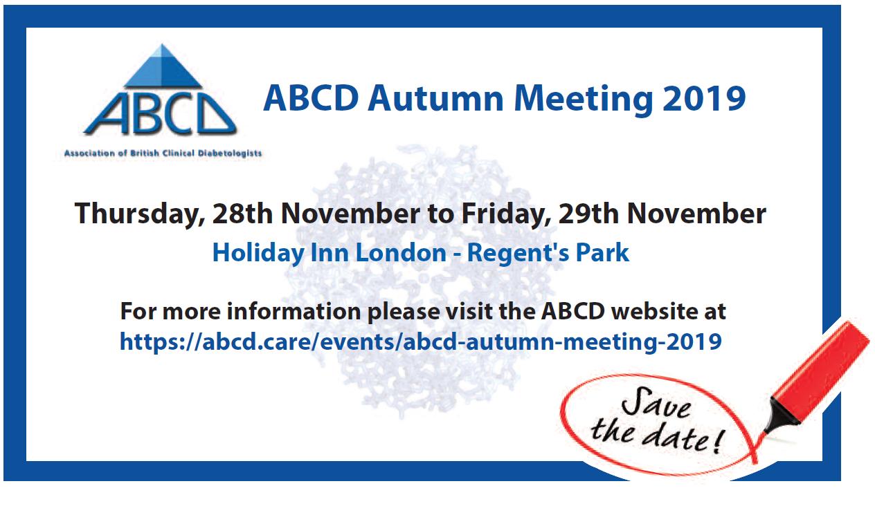 ABCD Autumn Advert